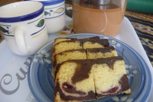 Resepi: Black Forest Butter Cake