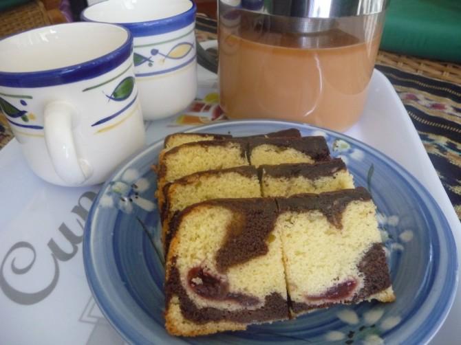 Resepi: Black Forest Butter Cake