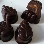 chocolate-peanut praline